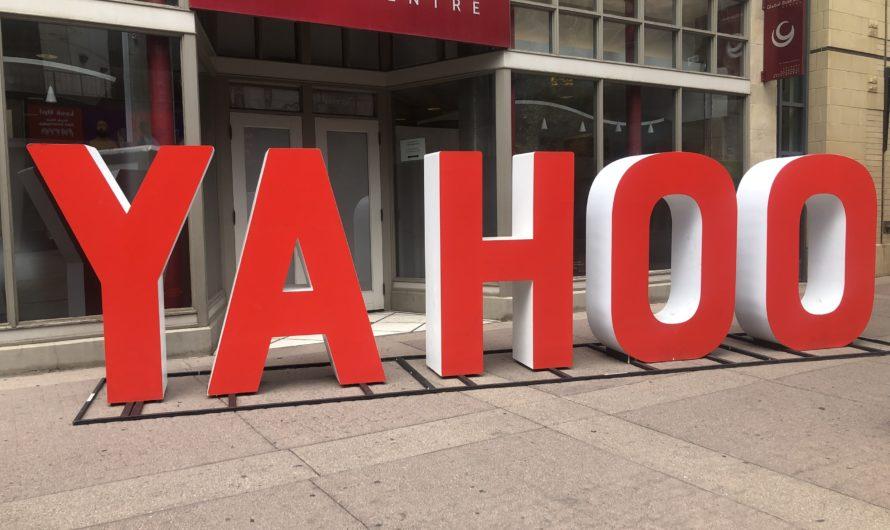 Verizon vyhledávač Yahoo.com