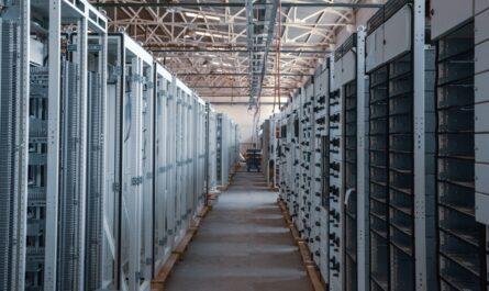 Cloud centrum, kde jsou uložena data uživatelů.
